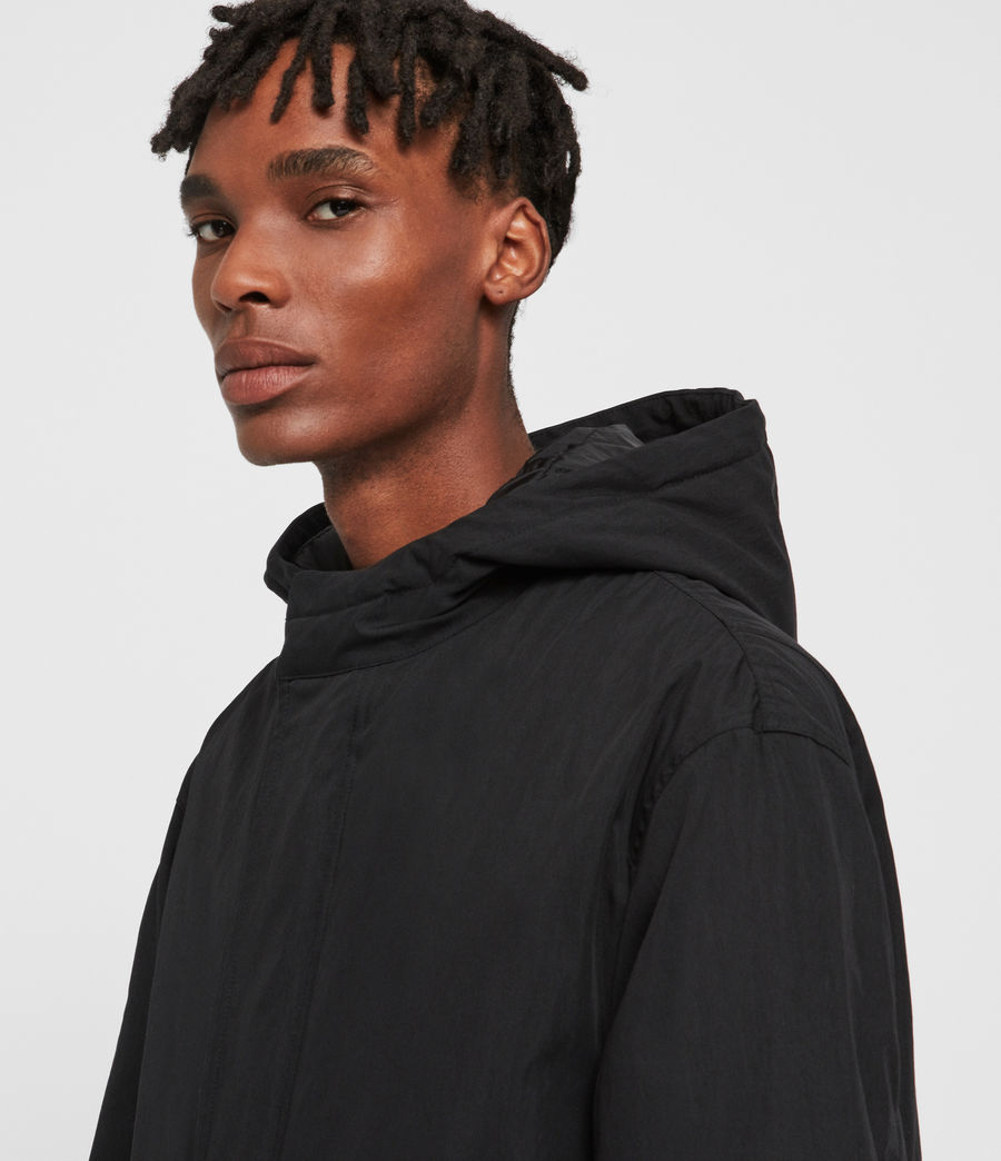 Men's Alma Parka (black) - Image 2