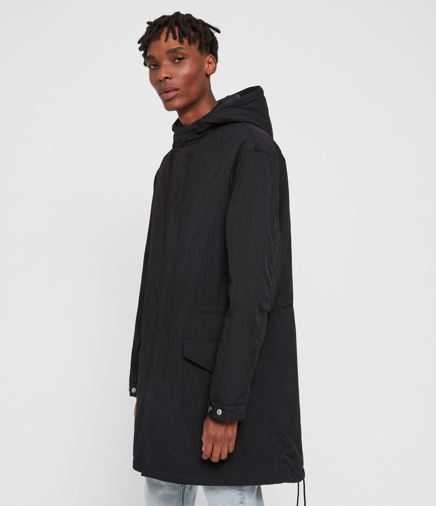 Men's Alma Parka (black) - Image 4