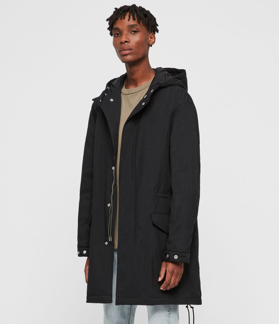Men's Alma Parka (black) - Image 5