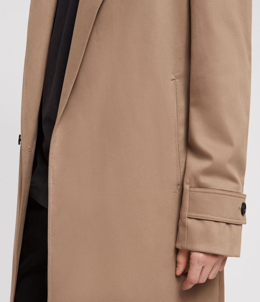Men's Reynolds Trench Coat (sand) - Image 4