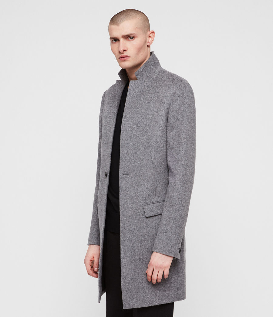 Men's Bodell Coat (light_grey) - Image 4