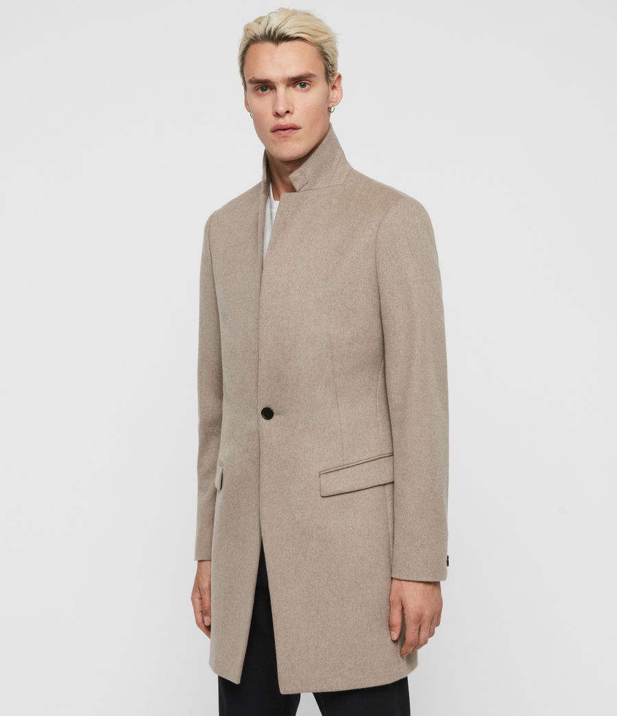 Men's Bodell Coat (sand_marl) - Image 1