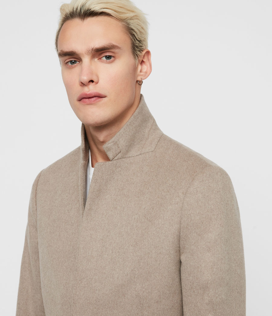 Men's Bodell Coat (sand_marl) - Image 2
