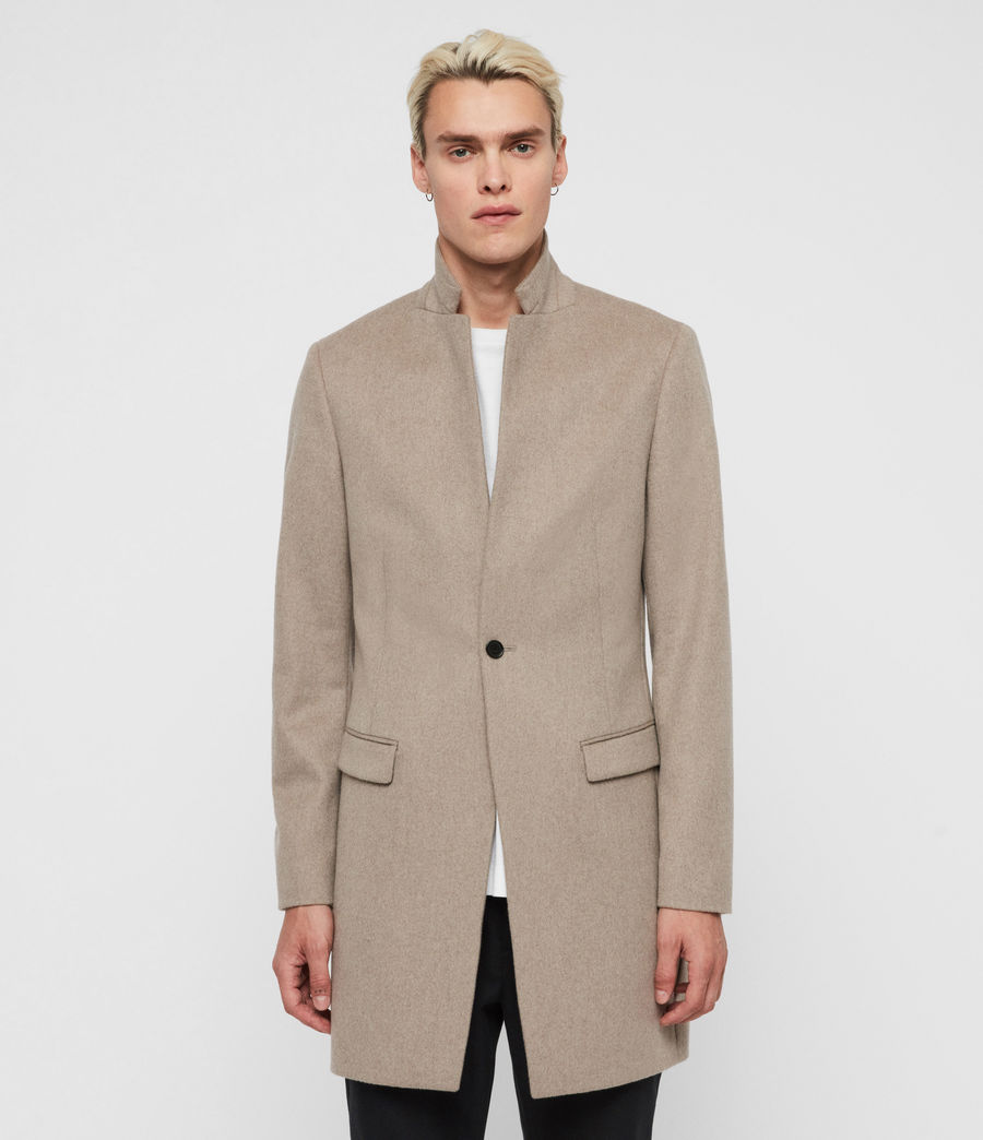 Men's Bodell Coat (sand_marl) - Image 3