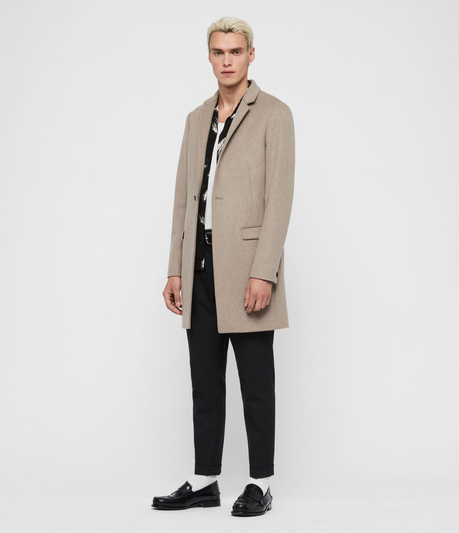 Men's Bodell Coat (sand_marl) - Image 4