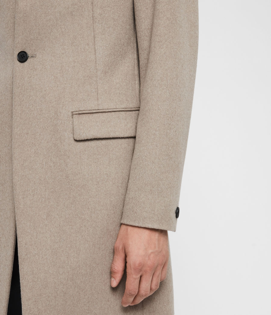 Men's Bodell Coat (sand_marl) - Image 5