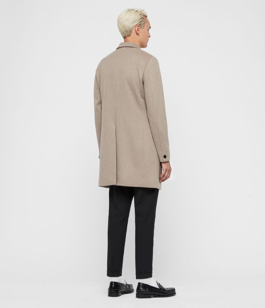 Men's Bodell Coat (sand_marl) - Image 6