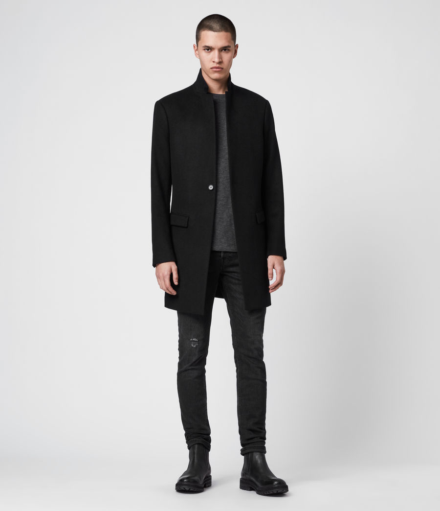 Mens Bodell Coat (black) - Image 1