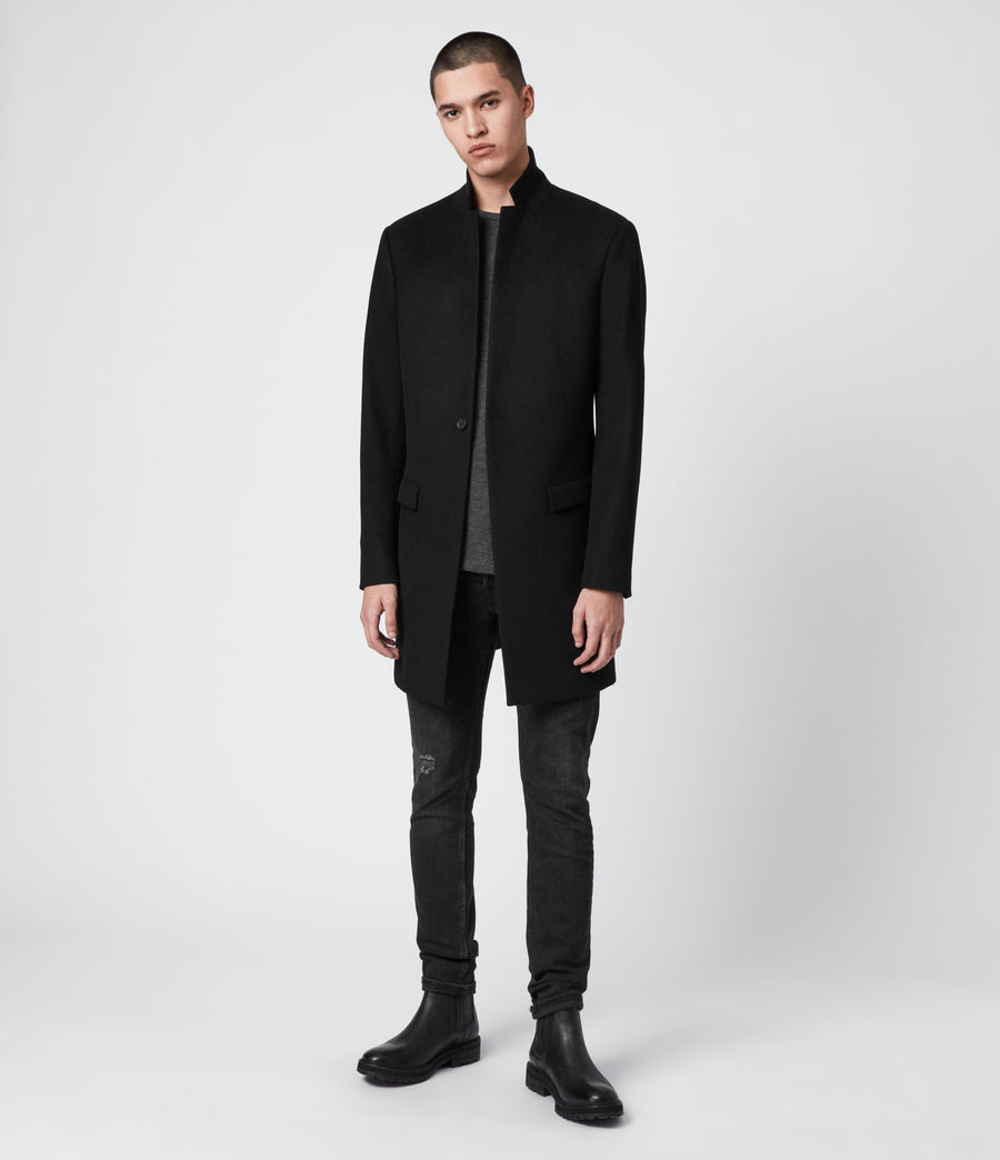 Mens Bodell Coat (black) - Image 4