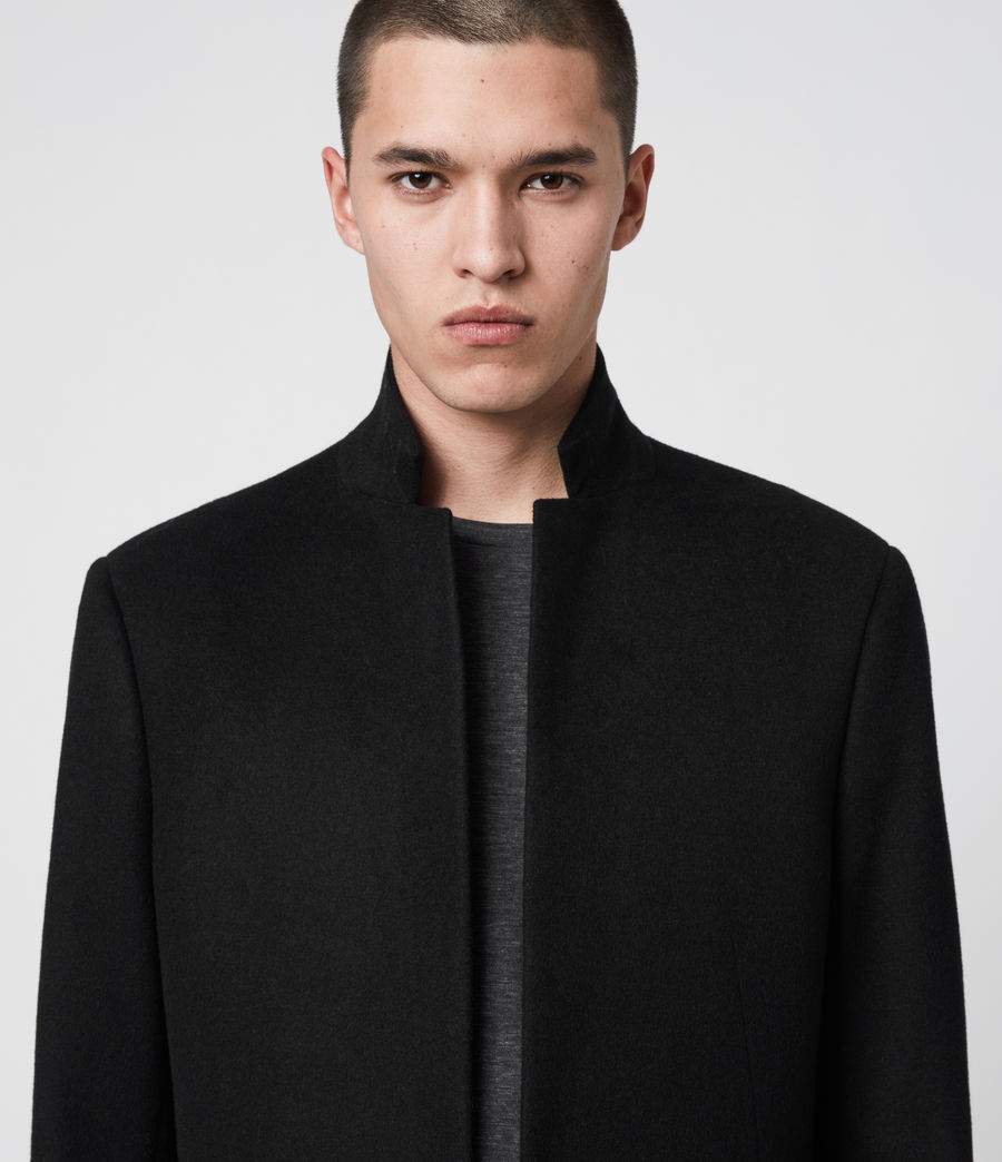 Mens Bodell Coat (black) - Image 5