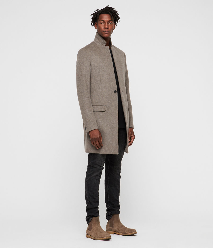 Mens Bodell Coat (oatmeal_brown) - Image 3