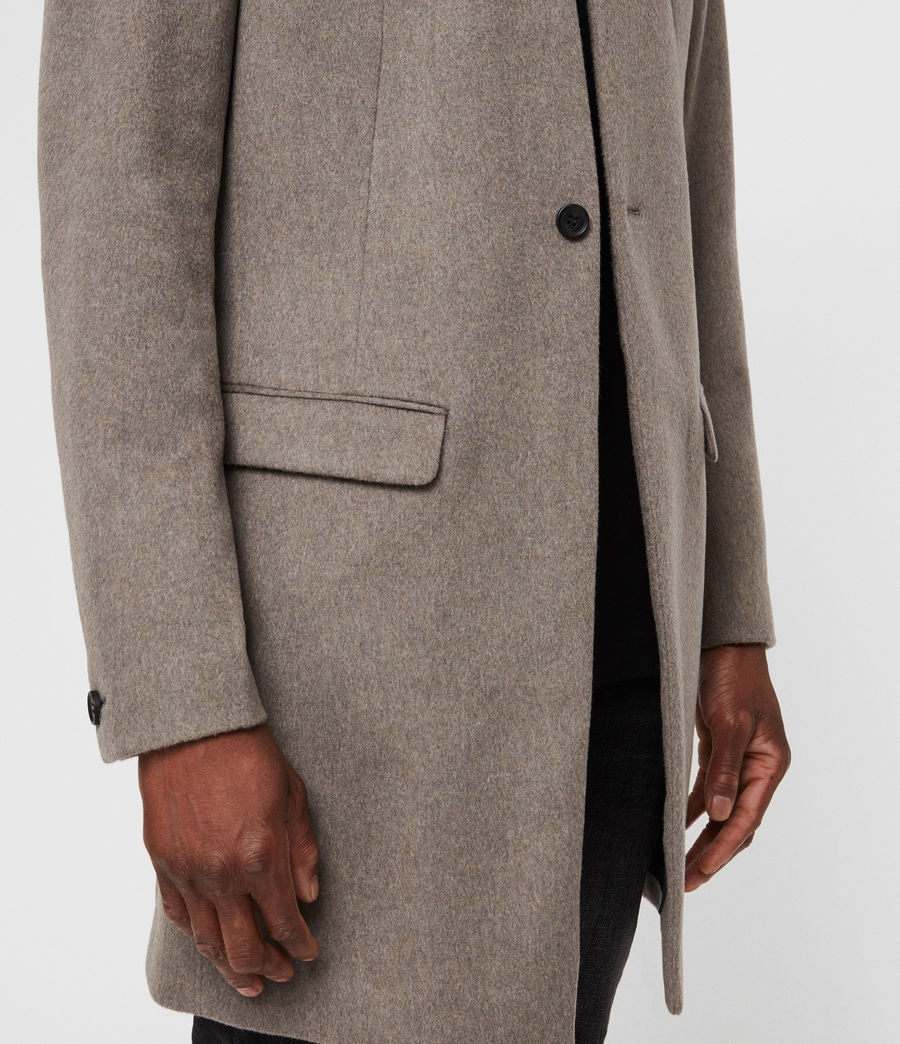 Mens Bodell Coat (oatmeal_brown) - Image 5