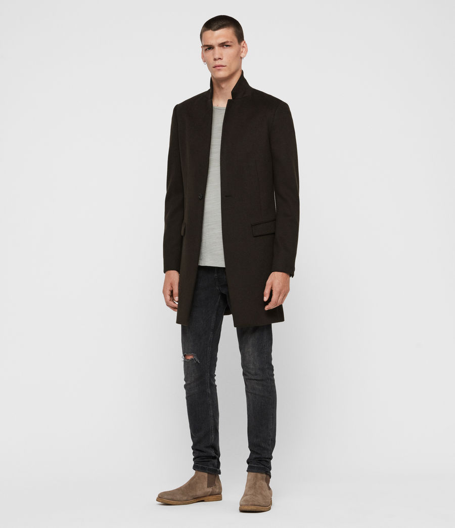 Men's Bodell Wool Coat (cocoa_brown) - Image 3