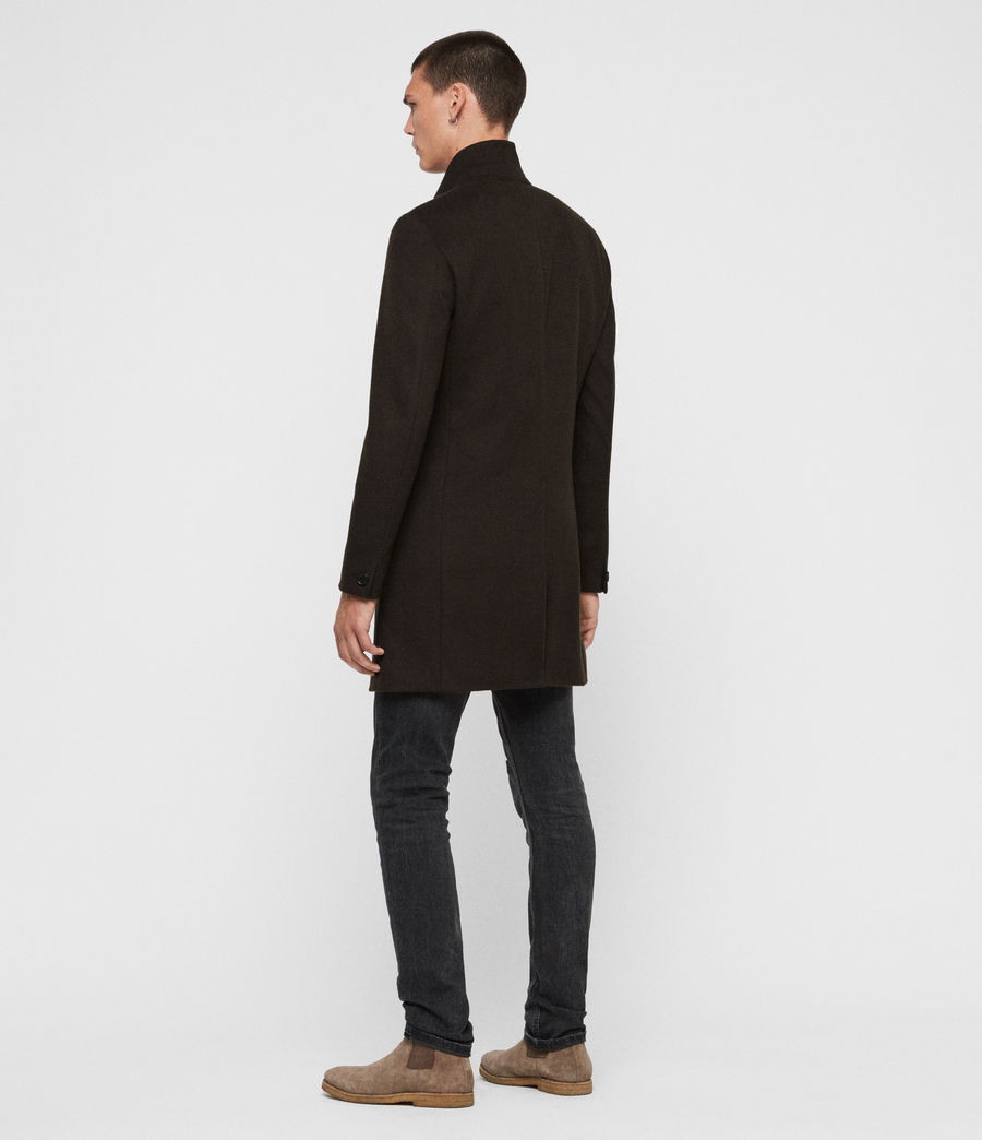 Men's Bodell Wool Coat (black) - Image 6