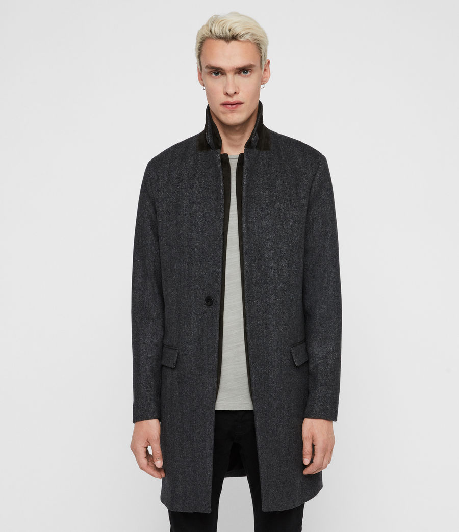 Men's Merton Coat (charcoal_grey) - Image 1