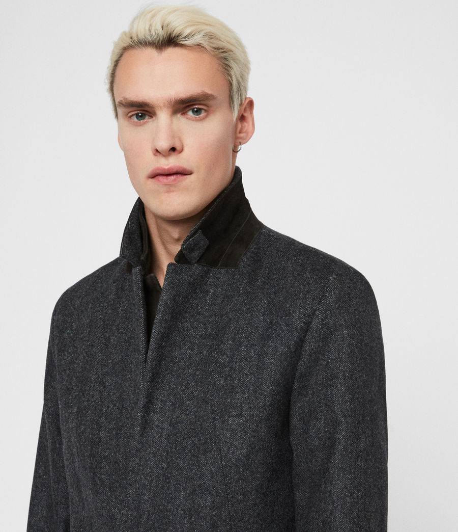 Men's Merton Coat (charcoal_grey) - Image 2