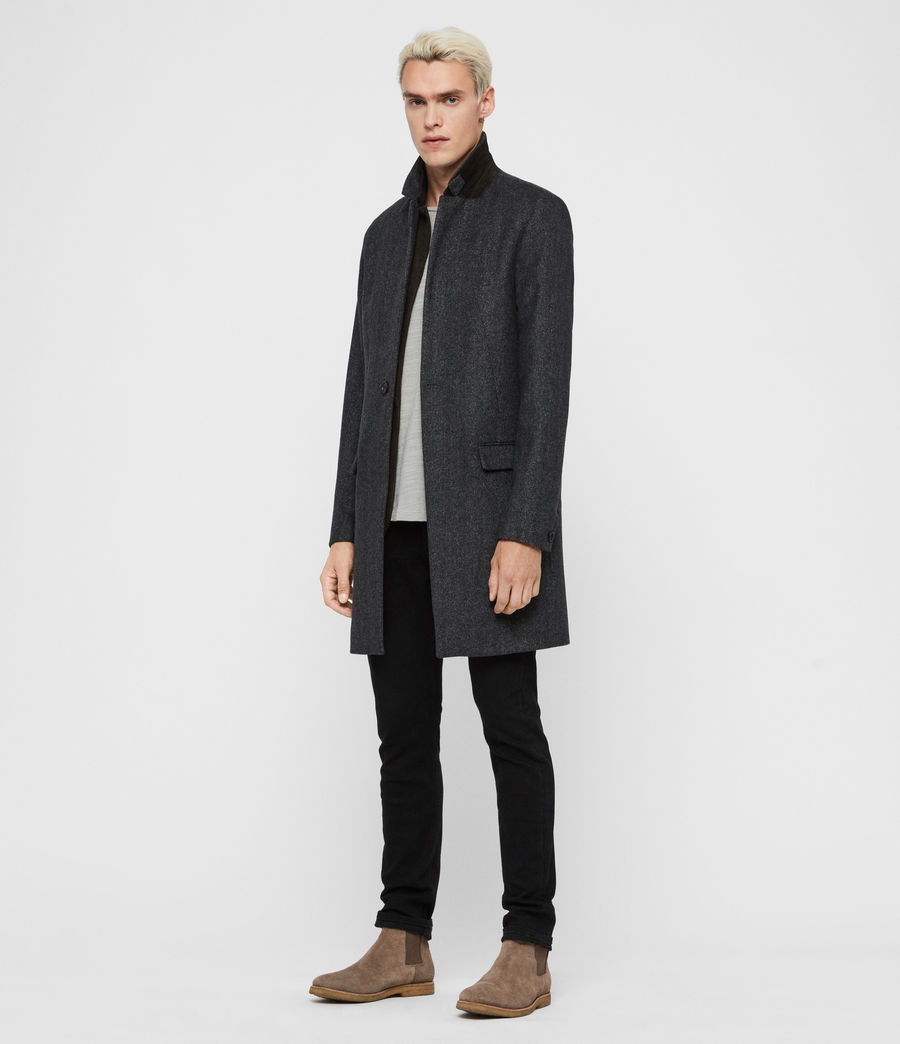 Men's Merton Coat (charcoal_grey) - Image 3