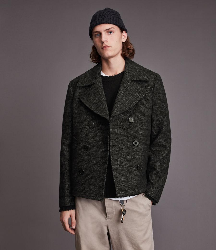 Hommes Ford Pea Coat (black) - Image 1