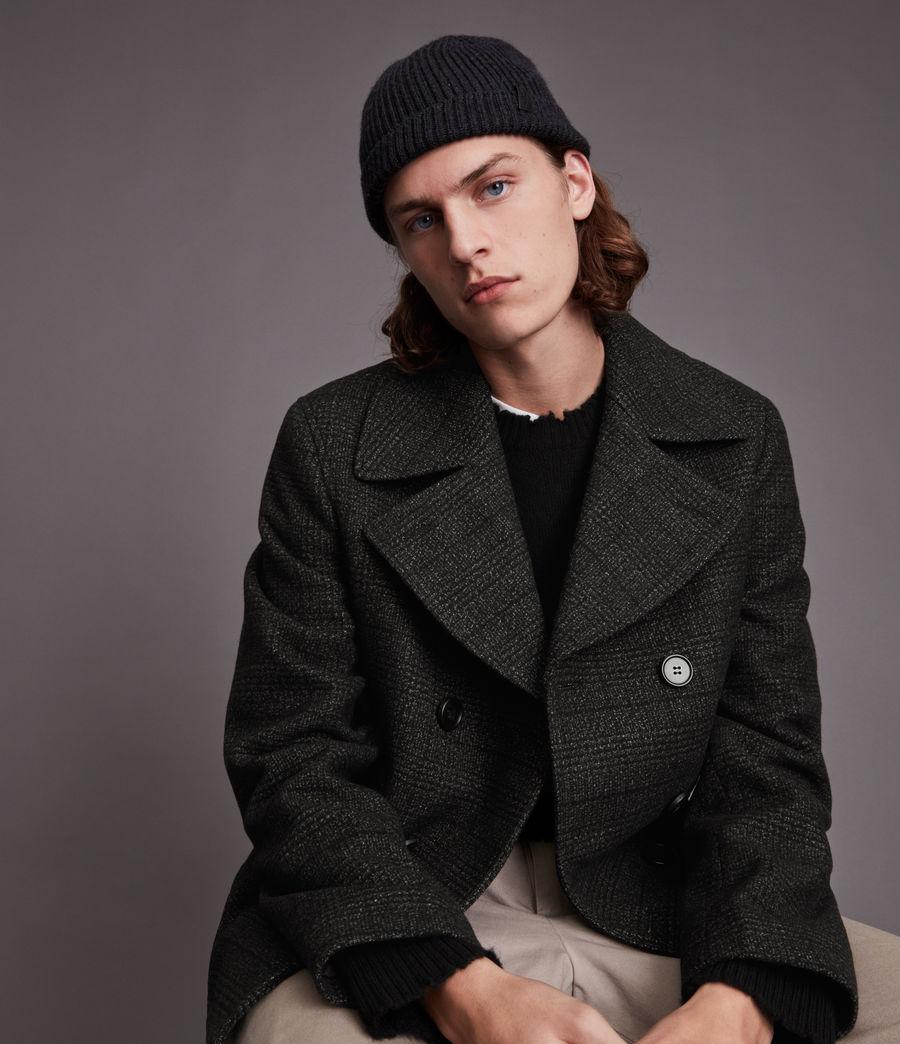 Hommes Ford Pea Coat (black) - Image 2