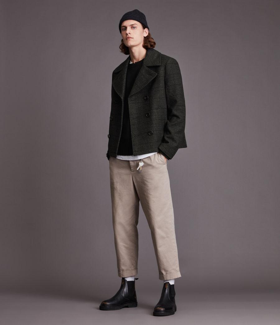 Hommes Ford Pea Coat (black) - Image 3