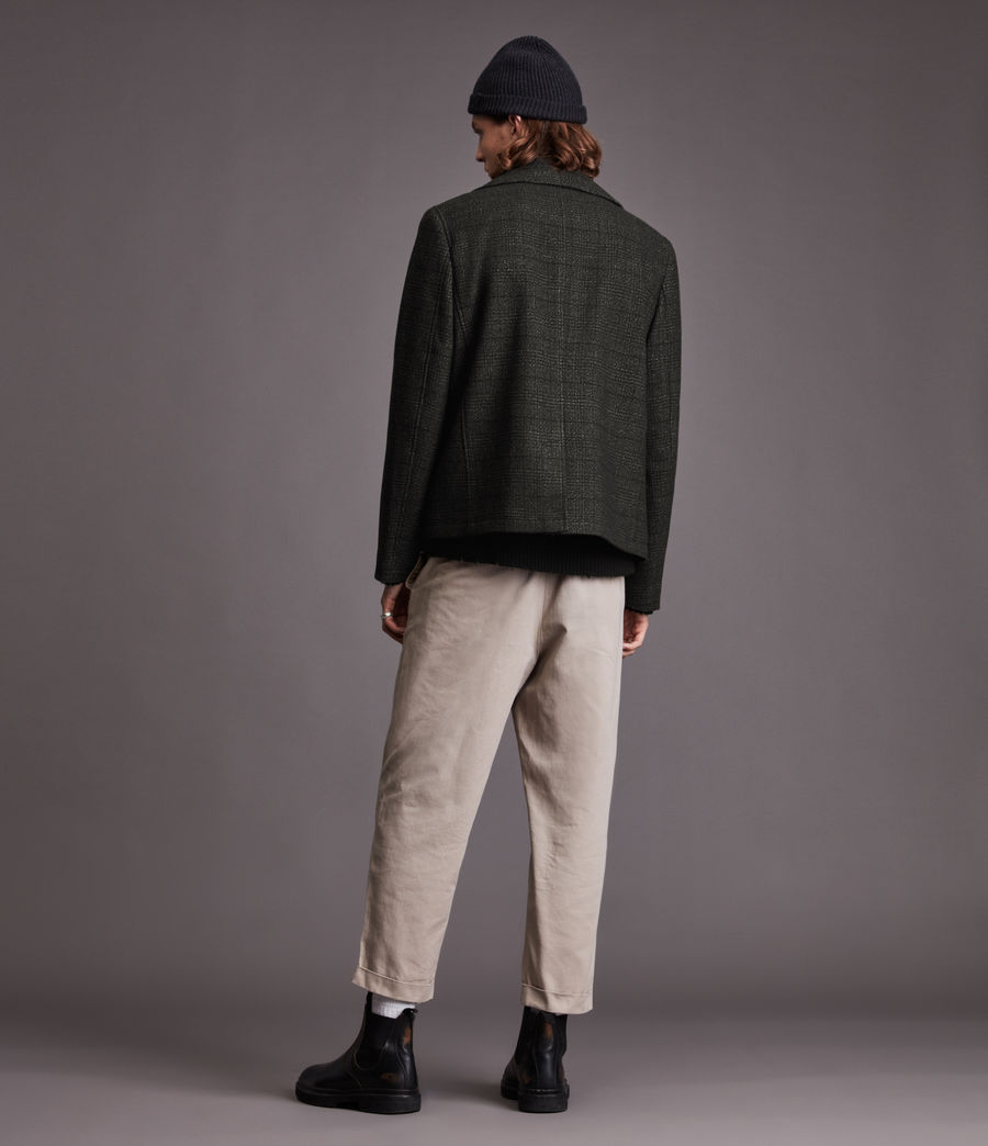 Hommes Ford Pea Coat (black) - Image 7