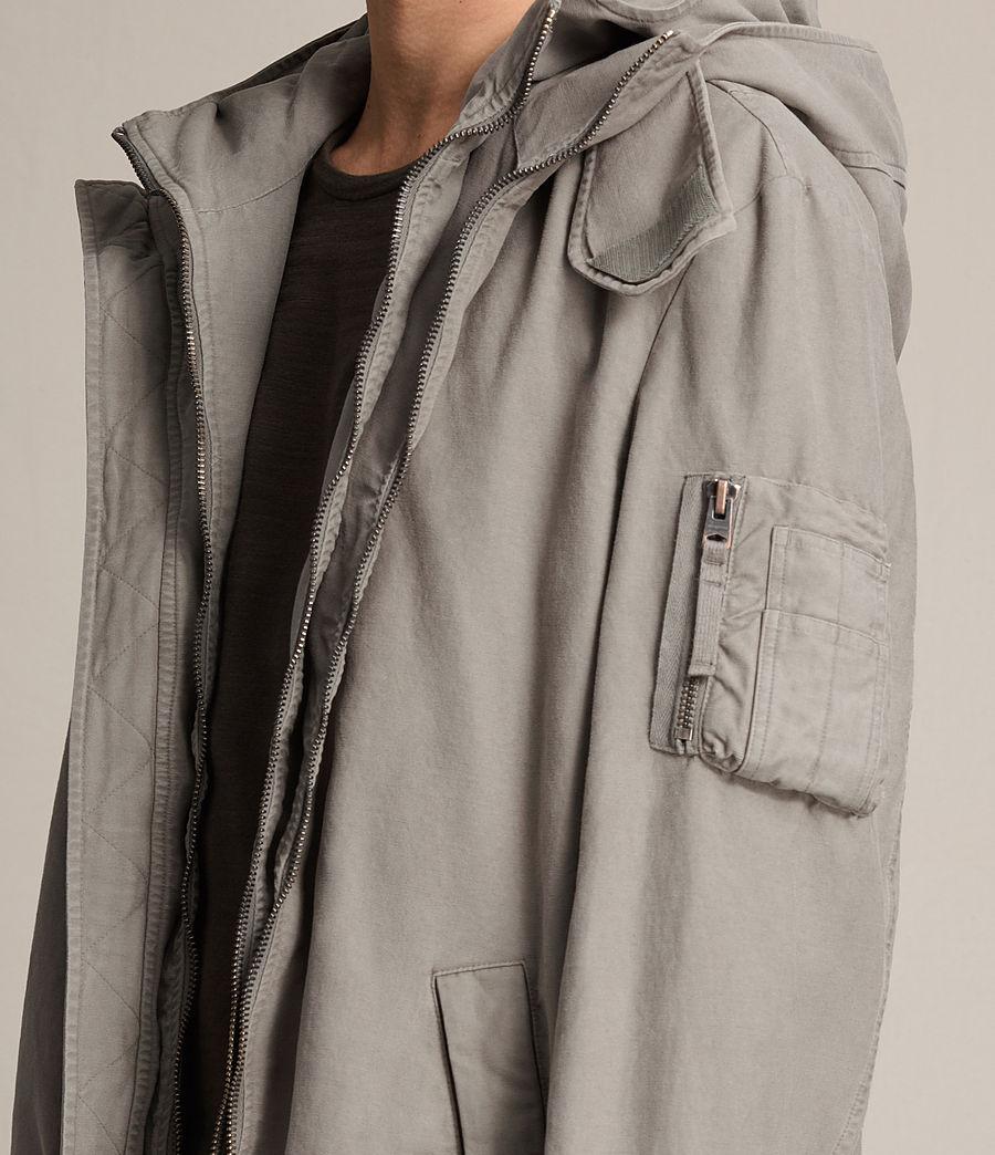 Men's Berwyn Parka Coat (soft_khaki_green) - Image 1