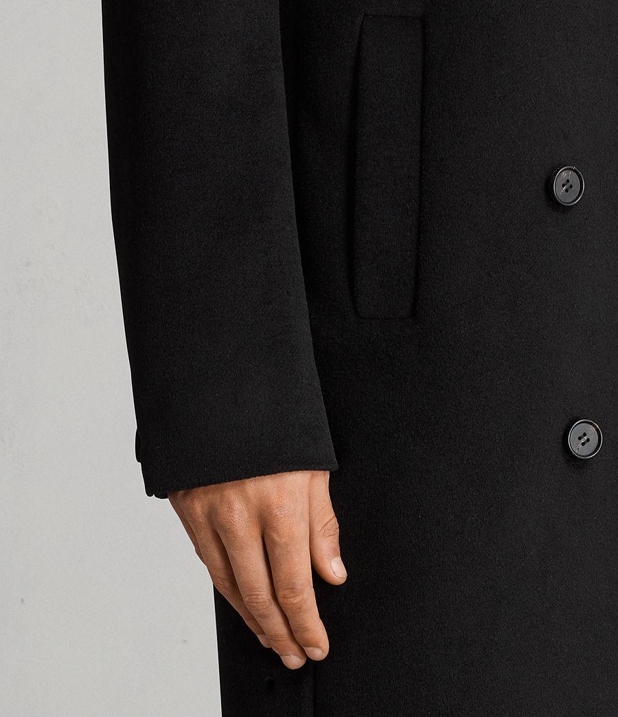 Hommes Manteau Eskra (black) - Image 2