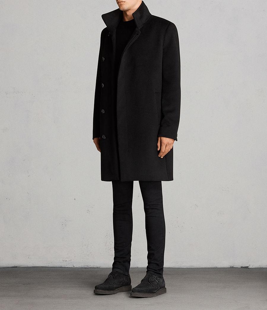 Hombres Abrigo Eskra (black) - Image 3