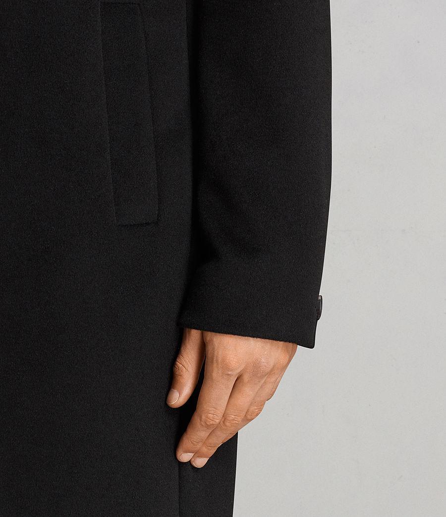 Hombres Abrigo Eskra (black) - Image 5