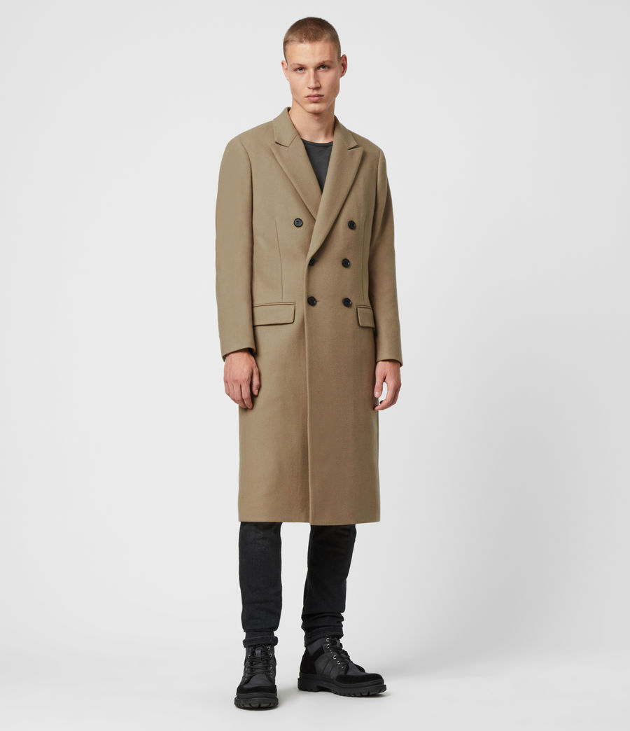 Men's Arley Coat (light_camel_brown) - Image 4