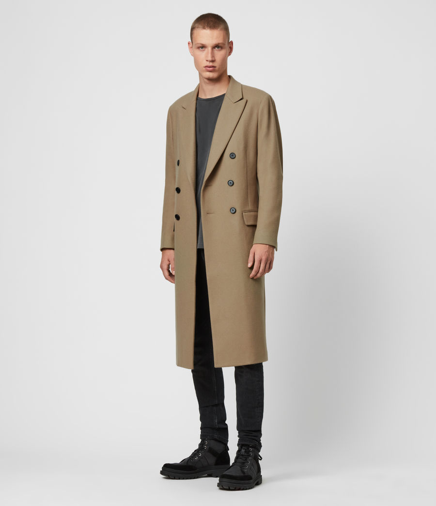 Men's Arley Coat (light_camel_brown) - Image 3