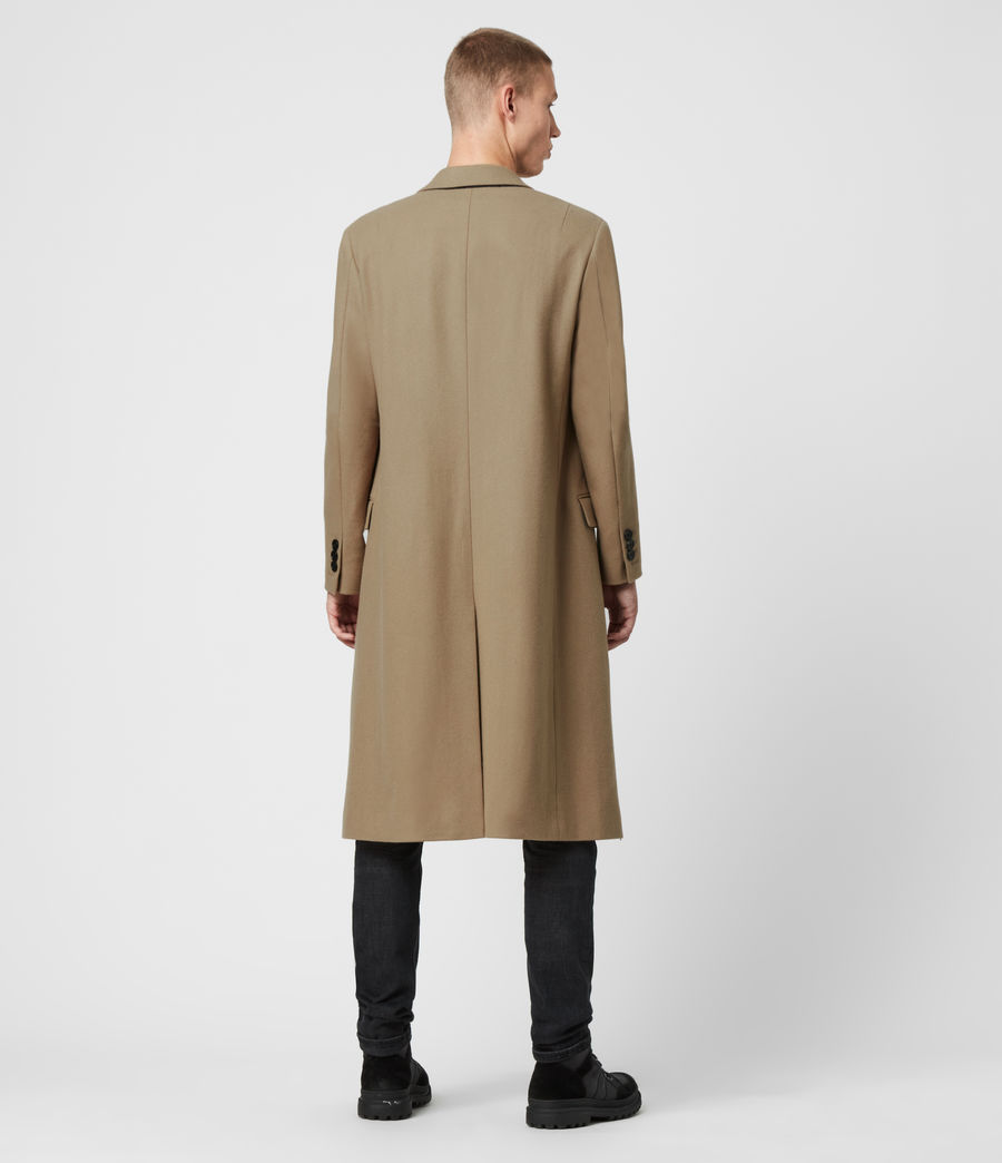 Men's Arley Coat (light_camel_brown) - Image 8