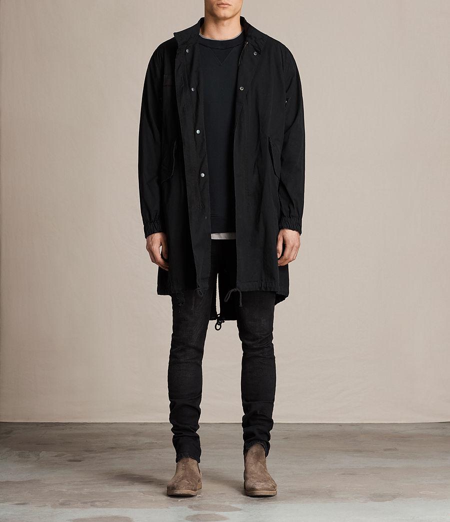Mens Arlet Parka Coat (black) - Image 1
