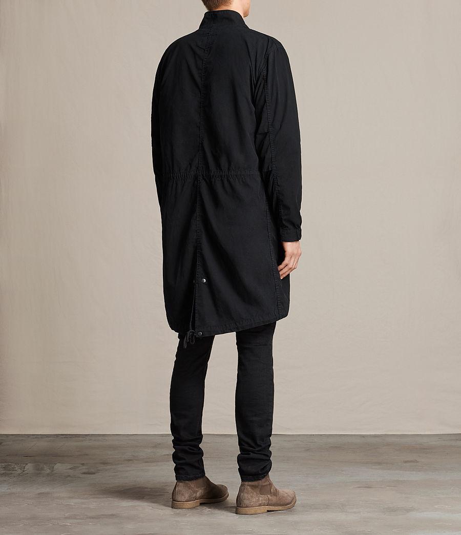 Mens Arlet Parka Coat (black) - Image 5