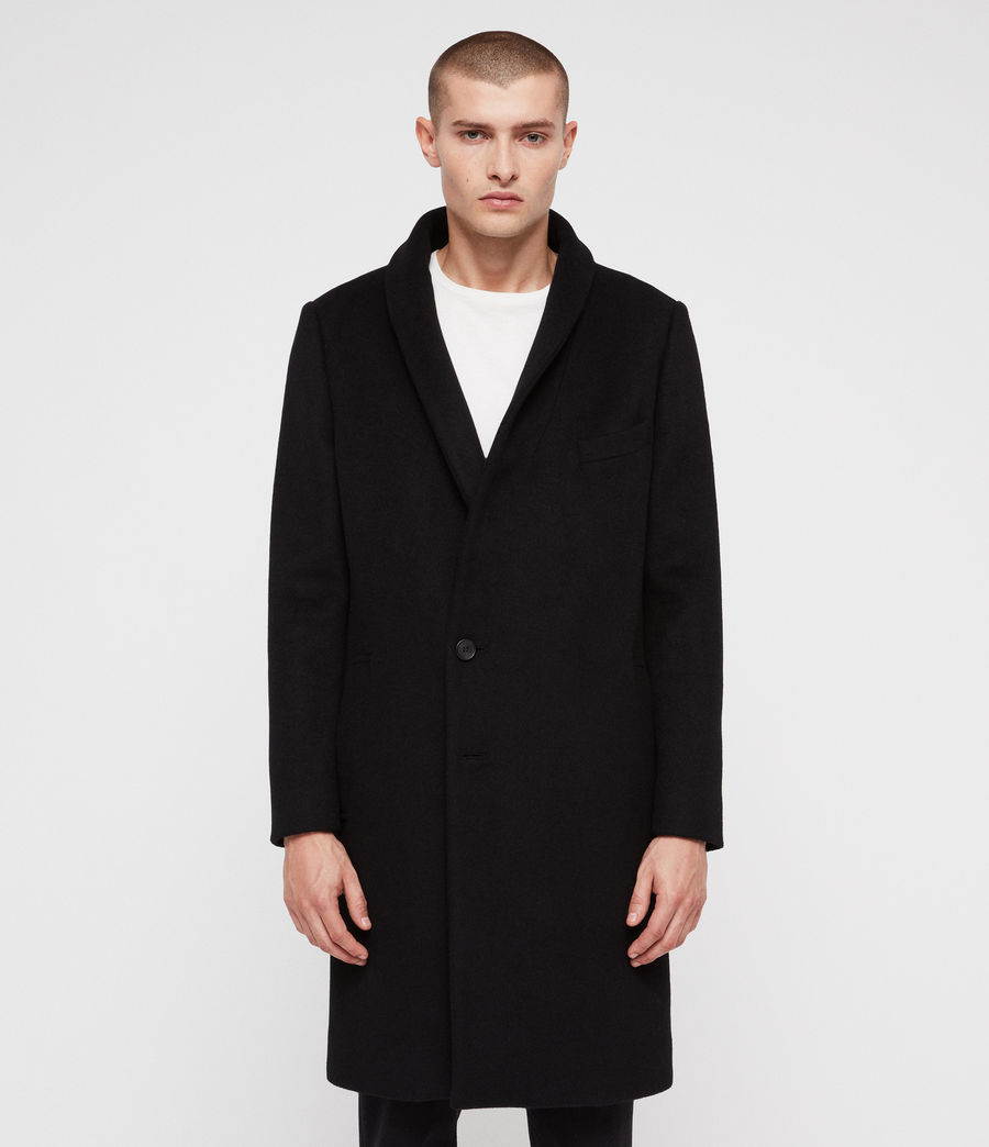 Men's Albany Coat (black) - Image 2