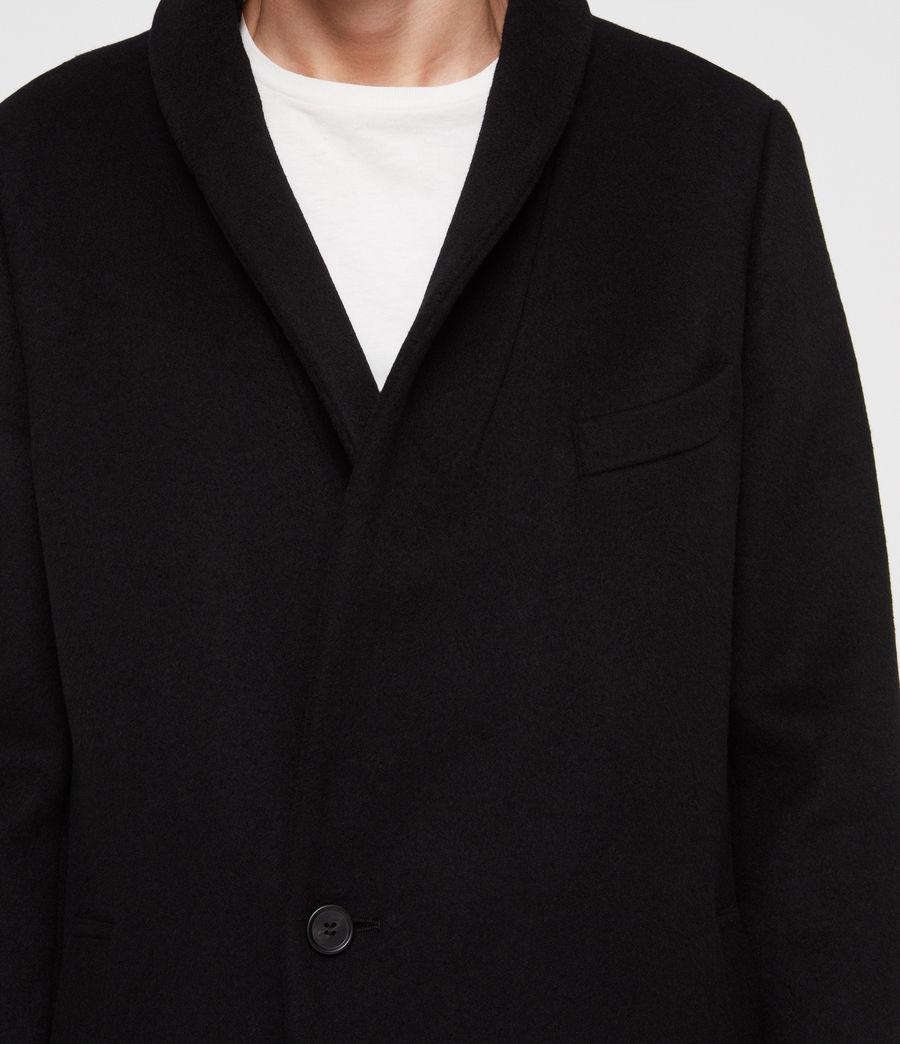 Mens Albany Coat (black) - Image 5