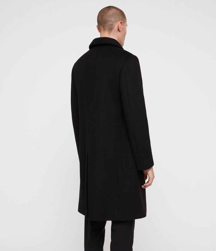 Men's Albany Coat (black) - Image 6