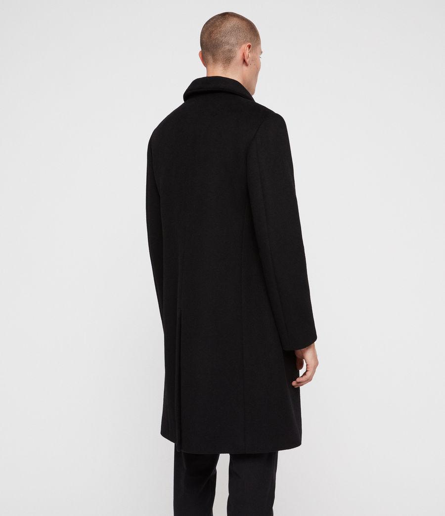 Mens Albany Coat (black) - Image 6