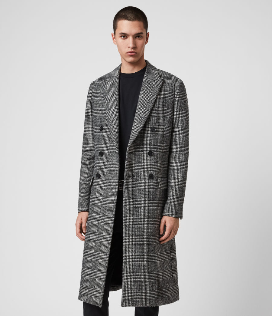 Mens Danson Coat (black_grey) - Image 3