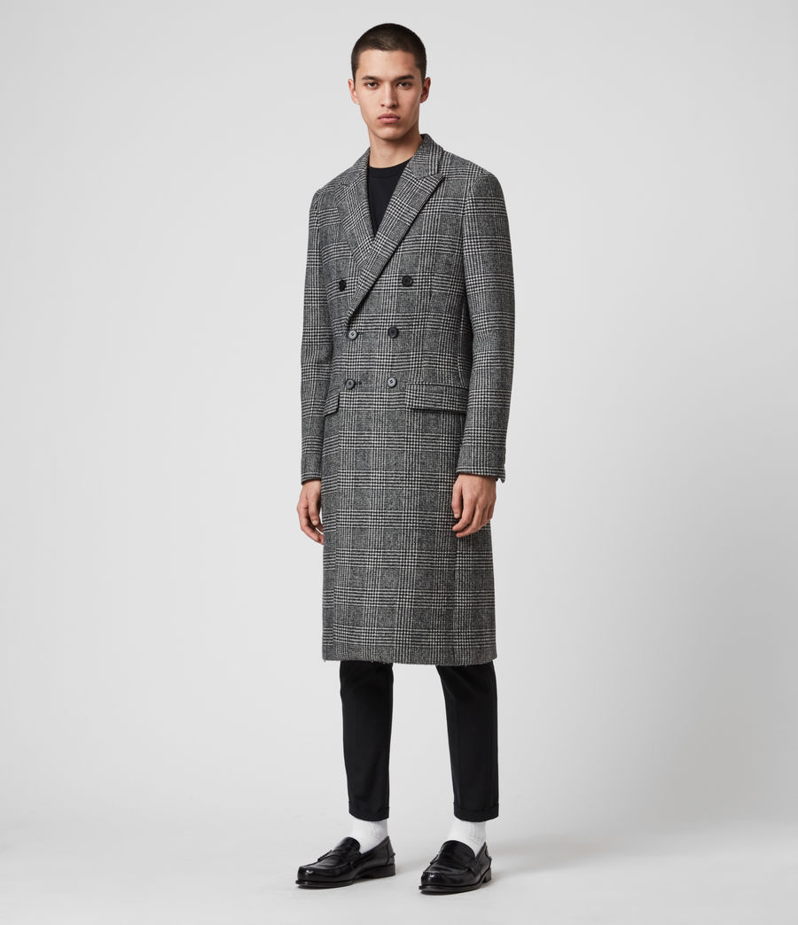 Men's Danson Coat (black_grey) - Image 4
