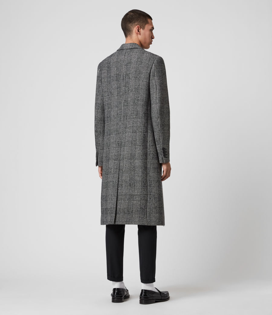 Mens Danson Coat (black_grey) - Image 7