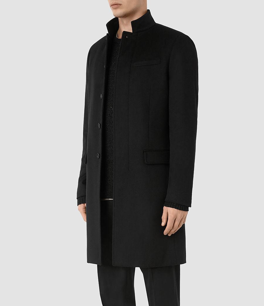Mens Adler Coat (black) - Image 2