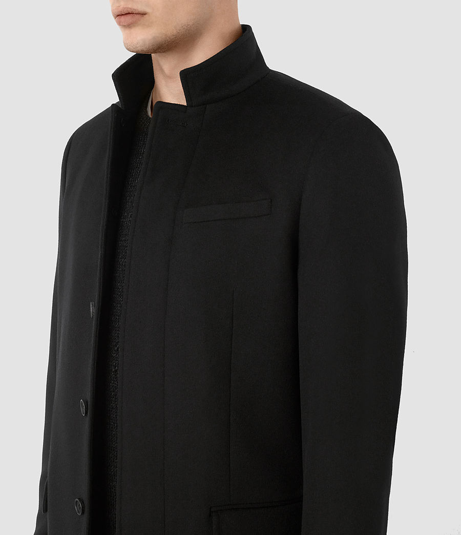 Mens Adler Coat (black) - Image 3