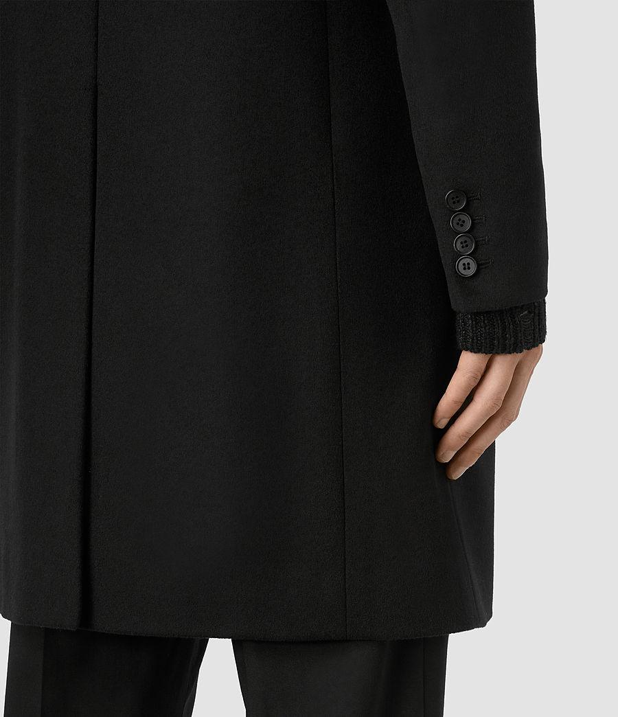 Mens Adler Coat (black) - Image 4