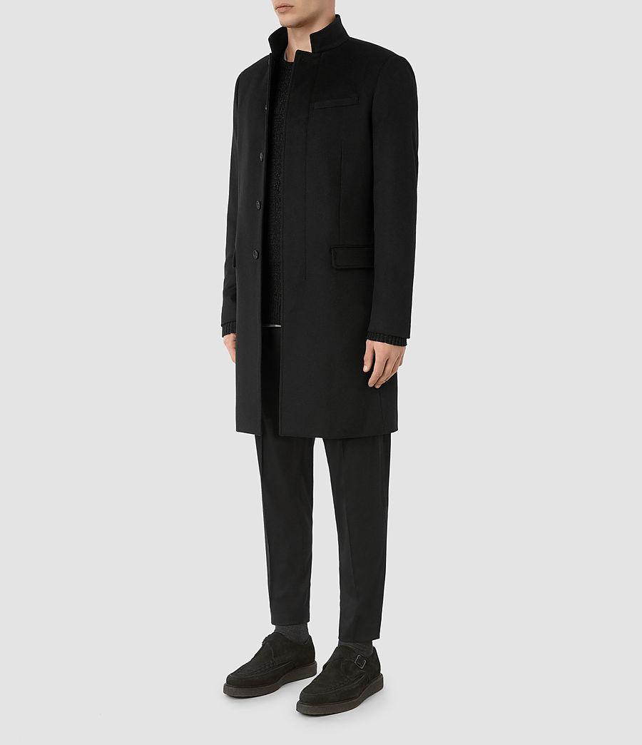Mens Adler Coat (black) - Image 5