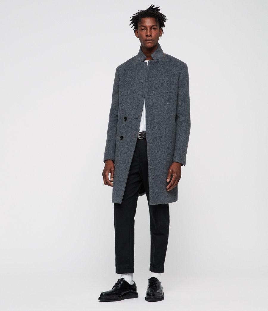 Men's Dowth Coat (mid_grey) - Image 1