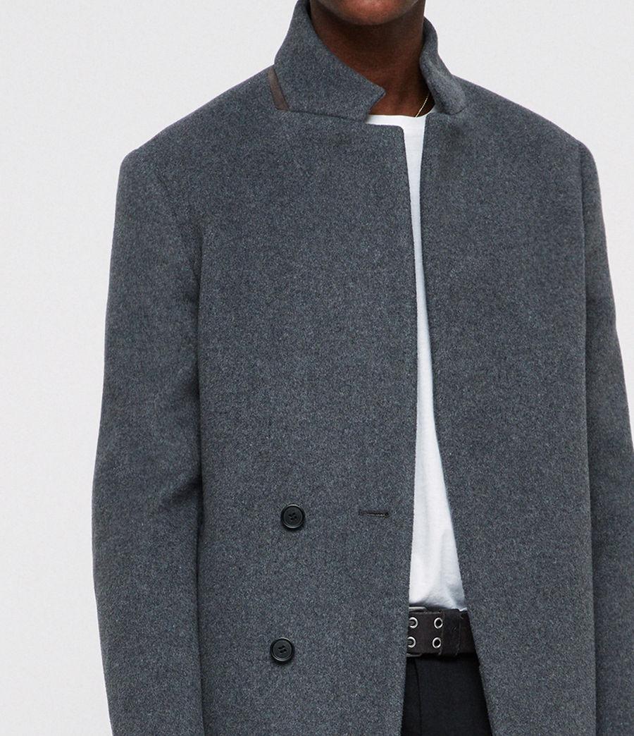 Men's Dowth Coat (mid_grey) - Image 2