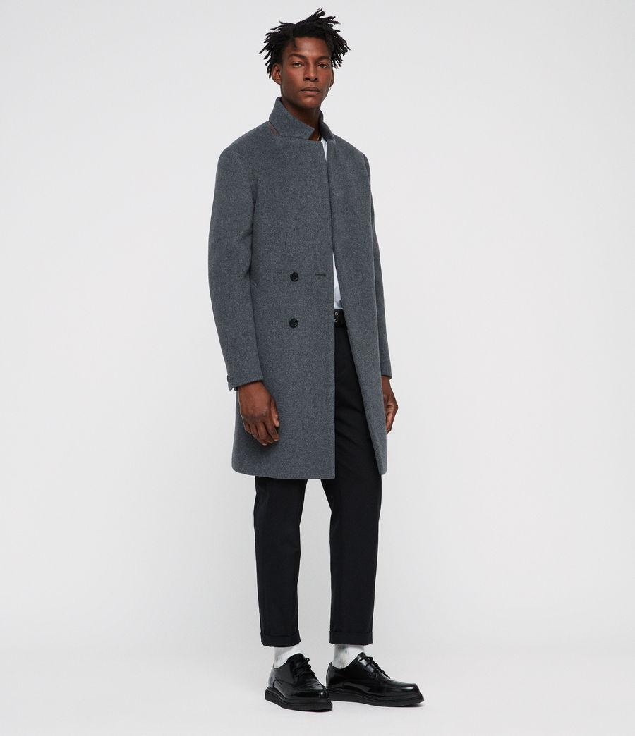Men's Dowth Coat (mid_grey) - Image 3