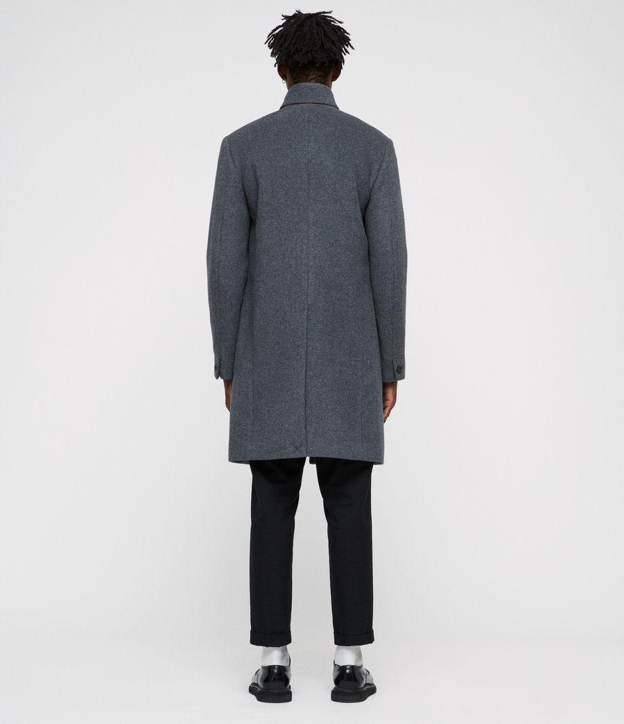 Men's Dowth Coat (mid_grey) - Image 4