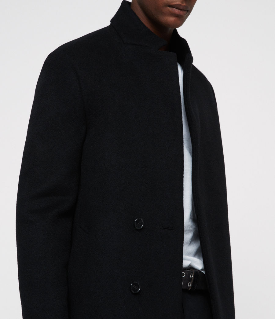 Mens Dowth Coat (black) - Image 2